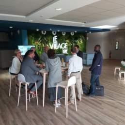 Petit déjeuner entre Startups et Partenaire Crédit Agricole des Côtes d'Armor