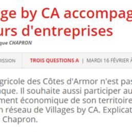 Le Village by CA accompagne les créateurs d'entreprises